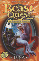 Beast quest: Luna the Moon Wolf by Adam Blade (Paperback) FREE Shipping, Save £s