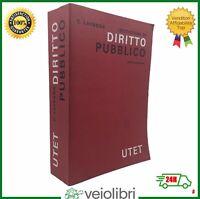 Carlo Lavagna ISTITUZIONI DI DIRITTO PUBBLICO sesta edizione UTET libro legge