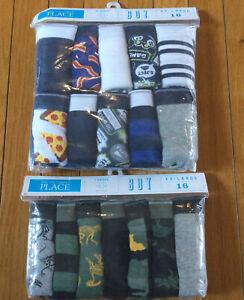 New 2 Packs The Children's Place Briefs Underwear Boys 16 XXL