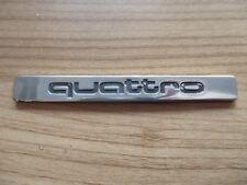 QUATTRO Emblem Audi A6 4B Schriftzug Heckklappe Zeichen