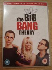 The Big Bang Theory Series Season 1 DVD Region 2, Very good Condition Comedy