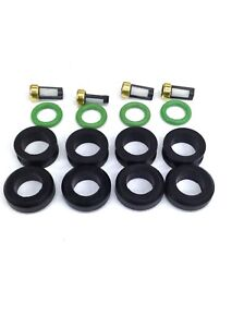 FUEL INJECTOR REPAIR KIT O-RINGS FILTERS GROMMET TRACKER MIRAGE VITARA L4 CDH166