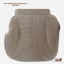 2000 - 2002 GMC Yukon SLE SLT Driver Bottom Tan Cloth Replacement Seat Cover