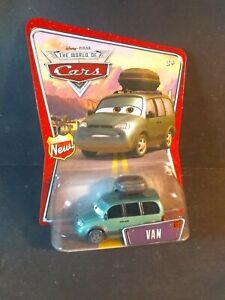 Disney Pixar World of Cars Movie Van Die-Cast Toy Car #61 - (New Blister)