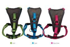 Doodlebone Adjustable X over Dog Puppy harness Green Blue Pink