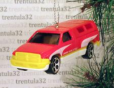 1995 DODGE RAM 1500 '95 PICKUP TRUCK RED YELLOW WHITE CHRISTMAS ORNAMENT XMAS