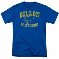 Friday Night Lights Panthers Logo T Shirt Mens Licensed Classic TV Show Royal
