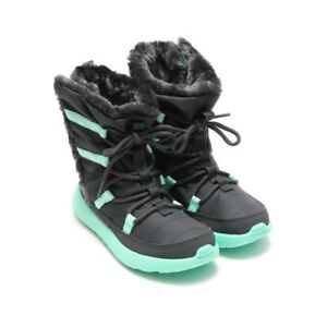 NEW Nike Roshe One Hi (PSV) Sneaker Boot Size 2Y Dark Grey/mint