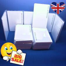 100 X 125khz Rfid Tarjetas Proximidad Tarjeta Id Control De Acceso Em4100 Reino Unido