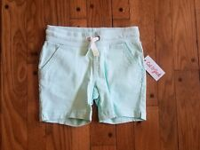 Cat & Jack blue girls soft waist 6x bermuda shorts.