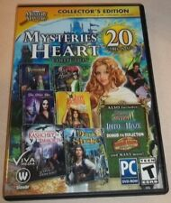 Mysteries of the Heart Collection Collector's Edition 20 Games (PC 2-CDs/1-DVD)