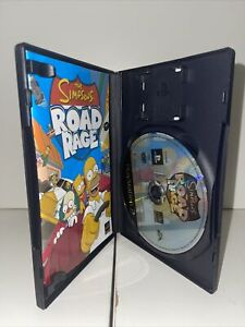 The Simpsons: Road Rage (Sony PlayStation 2, 2001, DVD-Box)