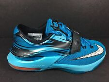 Nike Air Max KD VII Elevate Womens size 5.5 Youth 4 Blue Black White 669942 414