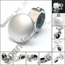 Silver Car Steering Wheel Spinner Knob Auxiliary Booster Aid Control Handle