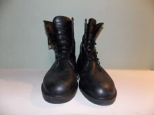2000's Black Leather Boots by Dunham Men's Size 11 Usa Made Used- Great Cond.