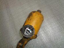 John Deere 40 420 440 Engine Oil Filter Assembly With Black Faced Gauge