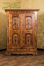 Voglauer Anno 1700 Hallway Cupboard Farmhouse Wardrobe Cottage Style Solid Wood
