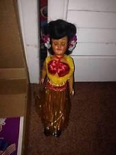 Vintage Storybook International Dolls, Plastic, Sleepy Eyes - Polynesian <<New<<