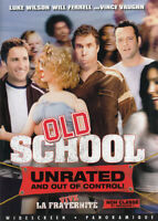 OLD SCHOOL (UNRATED AND OUT OF CONTROL!) (BILINGUAL) (DVD)