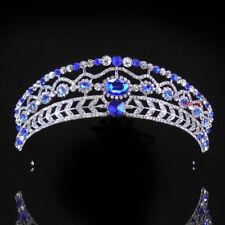 Beautiful Kids Royal Blue Flower Girl Children Wedding Prom Tiara Crown Headband