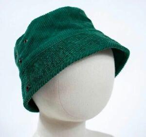 BABY GAP BOYS  SIZE LARGE XL HAT DARK GREEN CORDUROY 100% COTTON