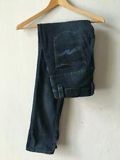 Nudie Jeans CO THIN FINN ORG. BLUE STRIKE Men's Jeans size W 30 L 32 md in Italy