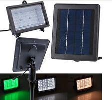 Led énergie solaire jardin lumière lampe d'extérieur voie yard spot flood lights pelouse uk