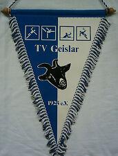 Orig.Übergabewimpel    TV GEISLAR  -  80ziger Jahre  //  33 cm  !!  SELTEN