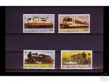 0836++GUINEE   SERIE TIMBRES TRAINS   N°4