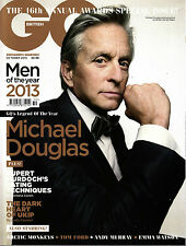 GQ UK October 2013 ANNUAL AWARDS Michael Douglas ANDY MURRAY Emma Watson @NEW@