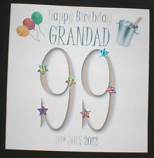 PERSONALISED HANDMADE DAD GRANDAD 40TH 50TH 60TH 70TH 80TH 90TH BIRTHDAY CARD