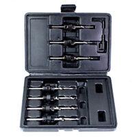 SDS Chisel /& Drill Bit Set Am-Tech Professonal 12 Pc Set 5-20mm Blow Case New