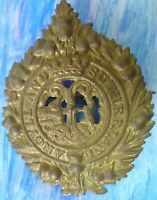 Badge- WW1 Argyll And Sutherland Highlanders Glengarry Cap Badge (BRASS) RARE*