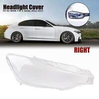 Right Side Transparent Headlight Cover Headlamp Lens Lenses For BMW F30 2013-16