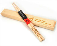 Personalised Custom Drum Sticks + Gift Box, 5A Size | Design A Truly Unique Gift