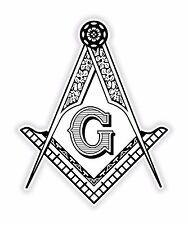 Masonic autocollant franc-maçon pour pare-chocs religieux voiture armoire réfrigérateur livre porte #02