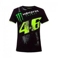 2017 Official Valentino Rossi VR46 Black Monster Energy T'Shirt - MOMTS 275504