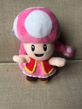 Super Mario Pink Mushroom Plush Stuffed Animal Toy Window Cling