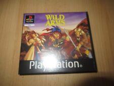 Wild Arms ps1 Rental Versión Pal