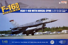 Kinetic RSAF F-16D Block 52 With Dorsal Spine K48007 1/48