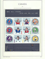 CANADA 2005 - LIGHTHOUSE page 2005.3 - NHL - ALL - STARS Souvenir Sheet - MNH