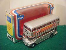 "Corgi no: 471 ""Routemaster Bus (Jubileo De Plata/Woolworth)"" (1976/Boxed) Original"
