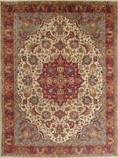 Masterpiece Antique Taabriz Oriental Handmade Medallion Area Rug 10x13