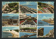 Posted 1963: Multiviews of Eastbourne: Grand Parade, Bandstand, Pier