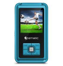 Ematic Em208vid 8 Gb Blue Flash Portable Media Player - Photo (em208vidbu)