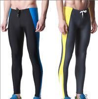 6851 New Men's Sport Fitness Swim Trunks Long Leg Swimming Tights Swimwear gift
