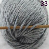 Sale 1 Ball x50g New Knitting Yarn Chunky  Colorful Hand Wool Wrap Scarves 33