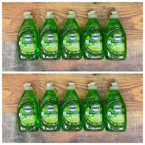 (10) Dawn Antibacteral Liquid Hand Soap Dish Detergent, Apple Scent, 7oz Lot NIP