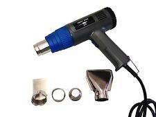 ELECTRIC 2 SPEED 1500W HEAT GUN SET KIT FOR STRIPS PAINT VARNISH AND LACGUER