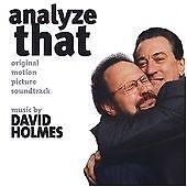 'ANALYZE THAT' DAVID HOLMES - NEW OST CD - FREE 1ST CLASS POST